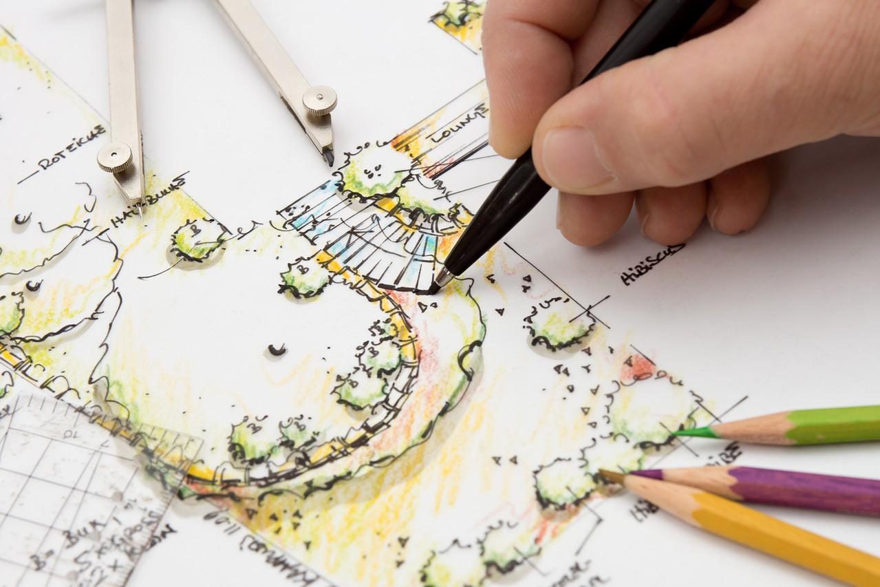 Praca architekta krajobrazu